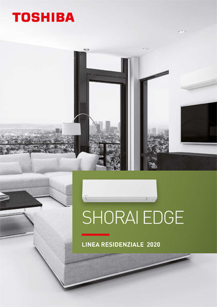 Catalogo Toshiba Residenziale Shorai Edge