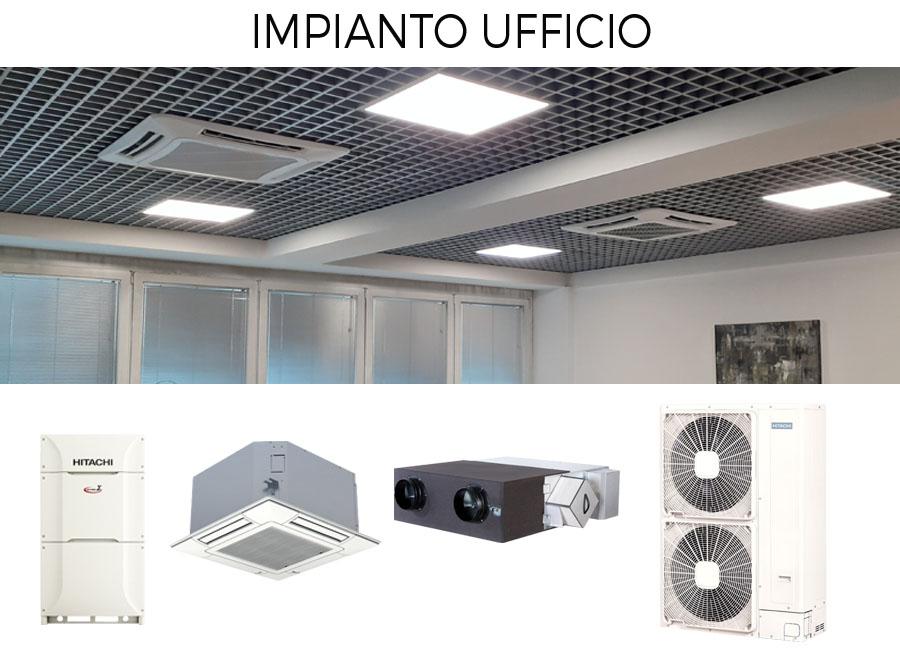 impianto climatizzazione-ufficio