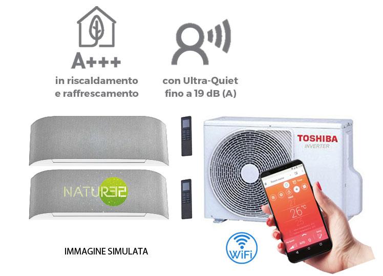 climatizzatore Haori Toshiba