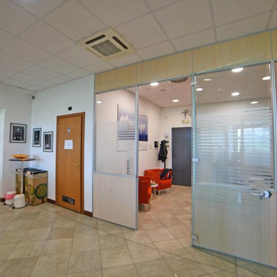 Impianto clima ufficio dettaglio cassetta
