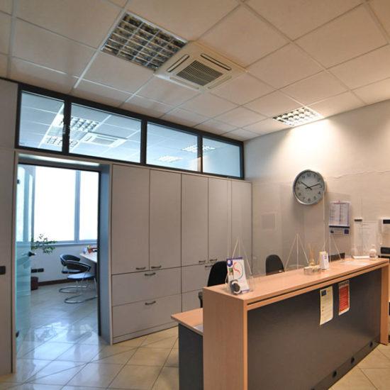 Impianto clima ufficio tecnologia VRF