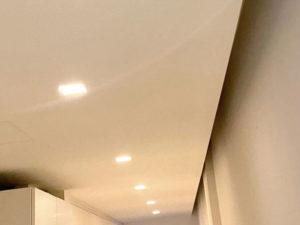 dettaglio soffitto cartongesso climatizzazione