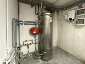 impianto produzione di acqua calda